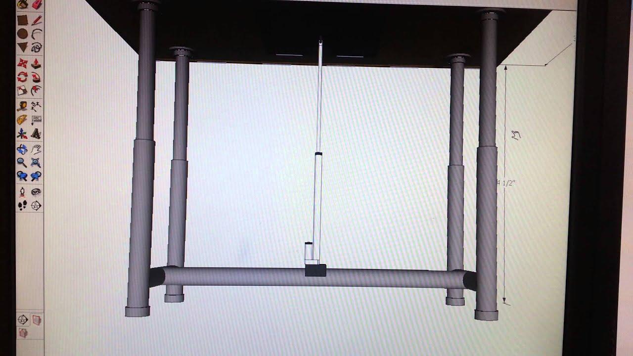 Adjustable Standing Desk Youtube