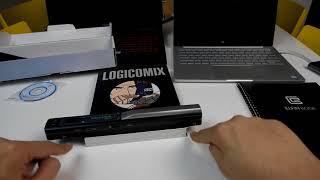 Το φορητό Scanner! [HandyScan SKYPIX TSN410 900 DPI]