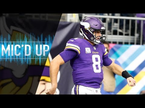 """Kirk Cousins Mic'd Up vs. Cardinals """"You're the Best in the League"""" 