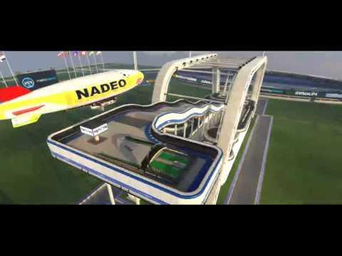 Testing Trackmania Stadium Broadcasting |