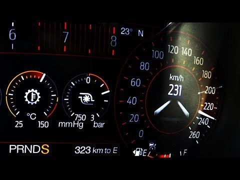 2018 Ford Mustang 2.3l Ecoboost FL 0-100 kmh kph 0-60 mph Tachovideo Beschleunigung Acceleration