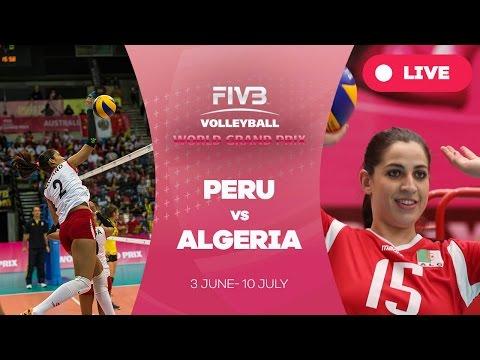 Peru v Algeria - Group 3: 2016 FIVB Volleyball World Grand Prix
