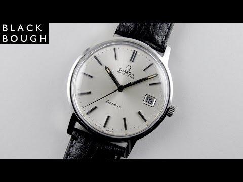 Steel Omega Genève Ref. 166.0163 vintage wristwatch, circa 1973