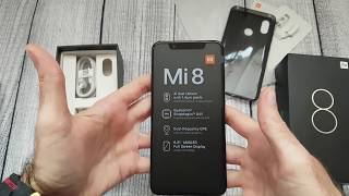 Gearbest Coupon code Xiaomi Mi 8 6.21 inch 4G Phablet Global Version Unboxing
