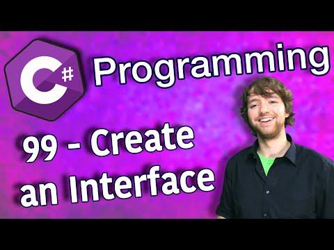 C# Programming Tutorial 99 - Create an Interface thumbnail