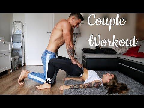 Couple Workout - motywacja do treningu