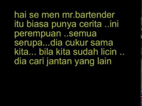 Oh Mr.Bartender