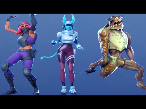Fortnite All Dances Season 1-11 Updated To Party Hips