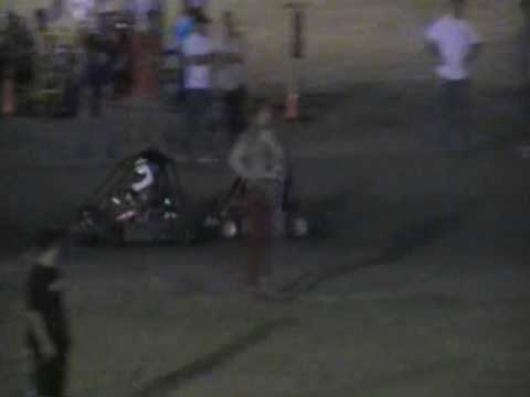 Part 3 of 4 Brennan Riley South Texas Speedway May 24 2009 Feature Go Kart Race