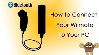 How to Connect your wiimote to PC