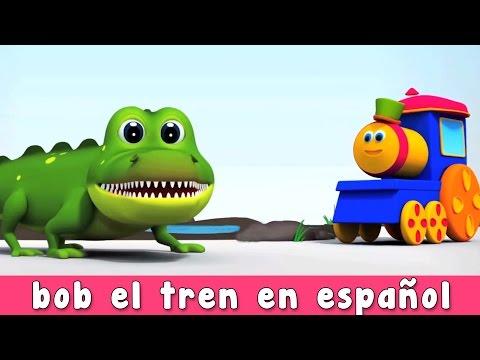 Bob el tren en español canciones de los niños | BOB  Y SU CANCIÓN ABC DE LOS ANIMALES EN INGLÉS