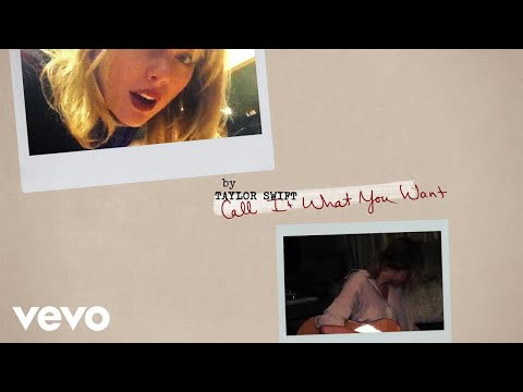 Taylor Swift – Call It What You Want (Lyric Video)
