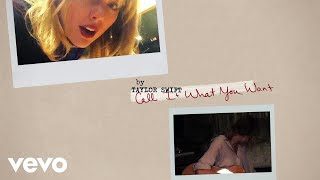 taylor swift call it what you want lyric video