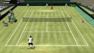 tennis simulator PC - Full Ace release (video 2) -