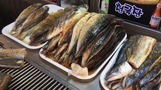 동대문 생선구이 골목(Grilled Fish, bake…