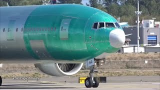 last cathay pacific boeing 777 300er b hnr first flight kpae paine field