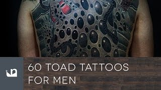 60 Toad Tattoos For Men
