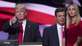 Former Trump campaign chair Paul Manafort turns himself into the FBI