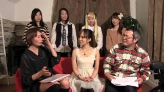 アイドル発掘ネット生番組「アイハツ」の様子です。 2013年1月31...