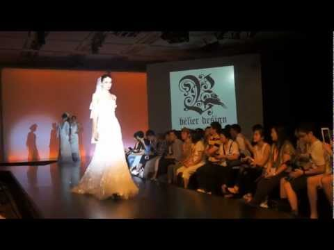 HKTDC Fashion Week International Fashion Designers Show. Europe Bridal Desiger Vien Lee.