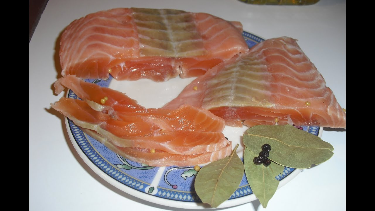 вкусный рецепт засолки красной рыбы в домашних условиях с фото