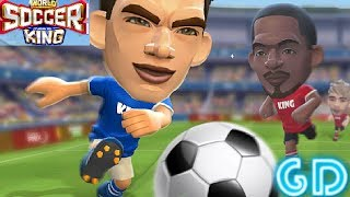 World Soccer King Gameplay Android PvP