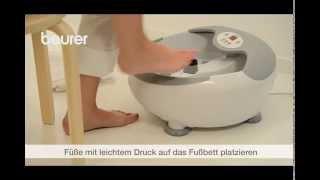 Produktvideo zu Luxus-Fußbad mit Massagefunktion Beurer FB 50