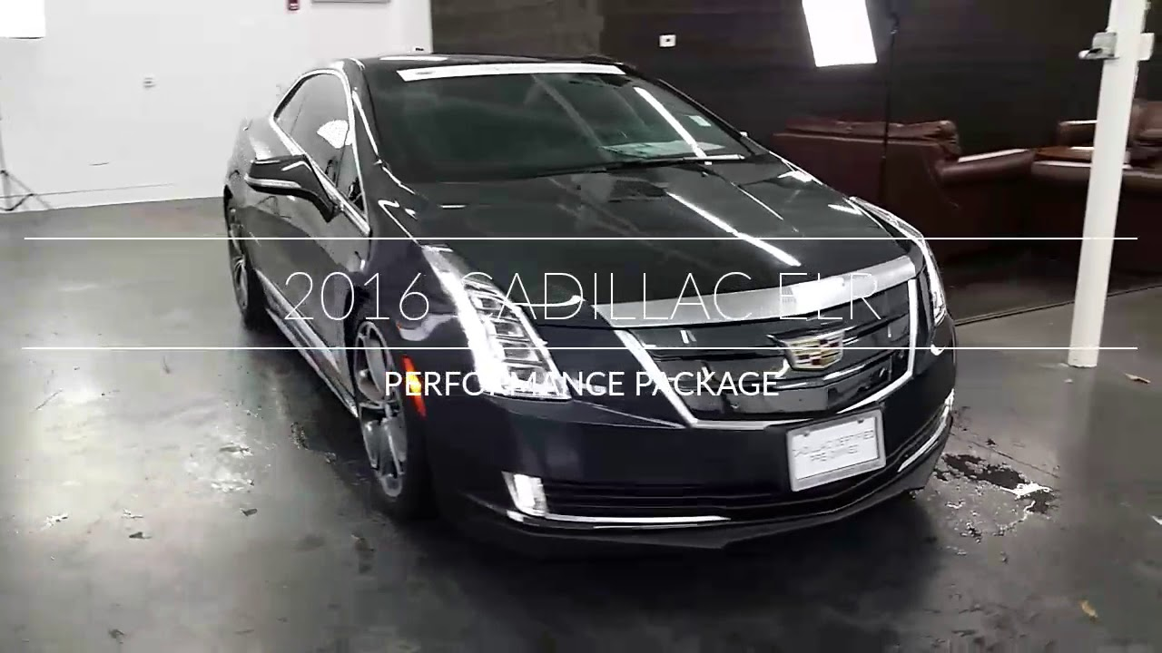 2016 cadillac elr doug s northwest cadillac seattle bellevue 8232 youtube youtube