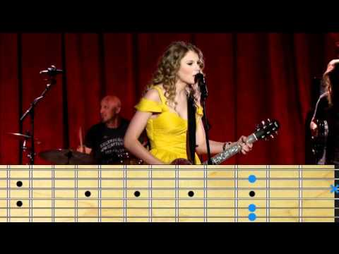 Taylor Swift - Mine Chords