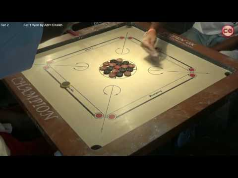 LM Set 2 Mangesh Pandit vs Azim Shaikh Mumbai Suburban District Carrom Organised Mayor Cup