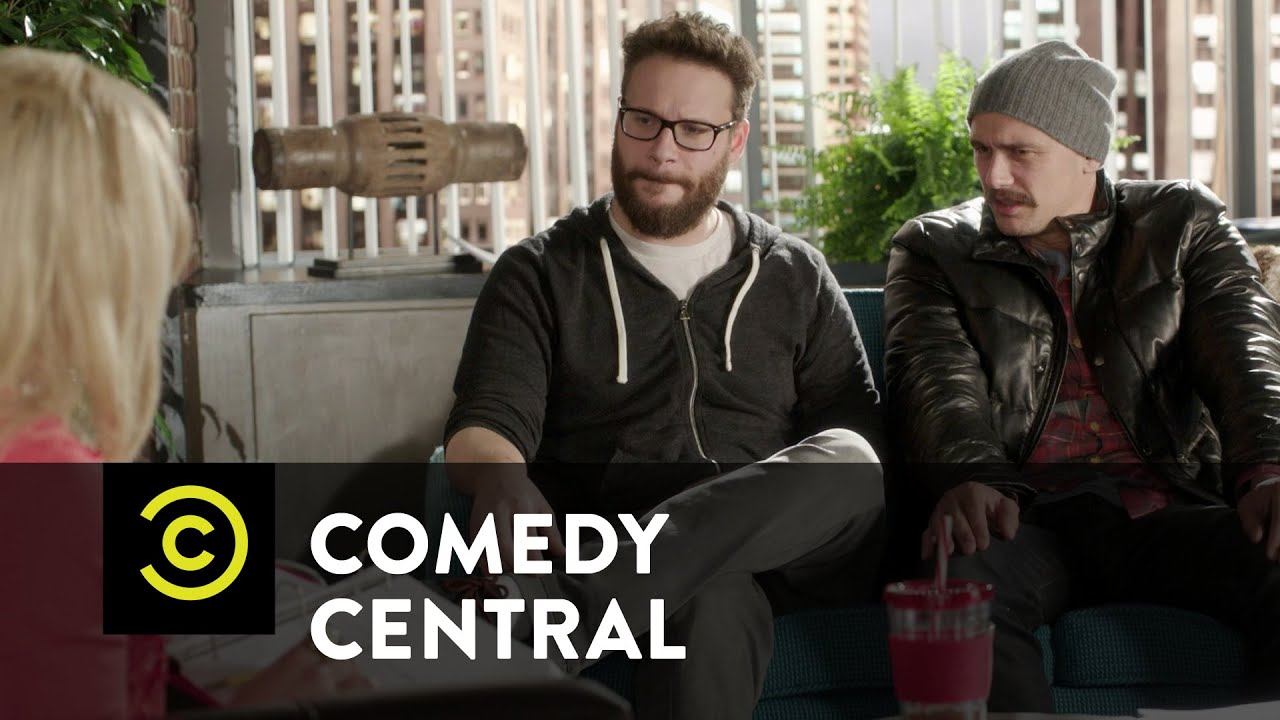 New PubLIZity Clients: Seth Rogen and James Franco