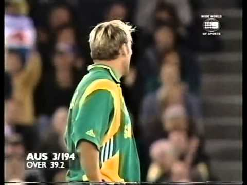 Steve Waugh 114* Michael Bevan 106 vs Sth Africa 2000