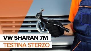 Come sostituire la testina sterzo su VW SHARAN 7M TUTORIAL   AUTODOC