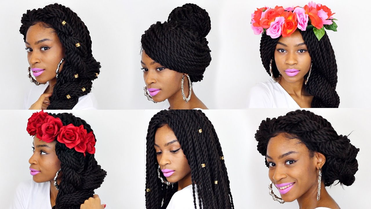 21 BOX BRAIDS HAIRSTYLES▻ Affordable Box Braid Wig Under $30 - YouTube