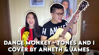 Gambar cover ANNETH DELLIECIA ft JAMES ADAM - DANCE MONKEY (TONES AND I - short cover)