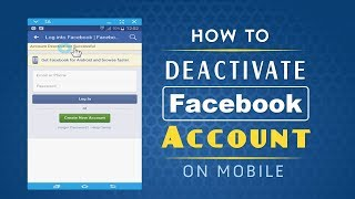 How to Deactivate Facebook Account on Mobile
