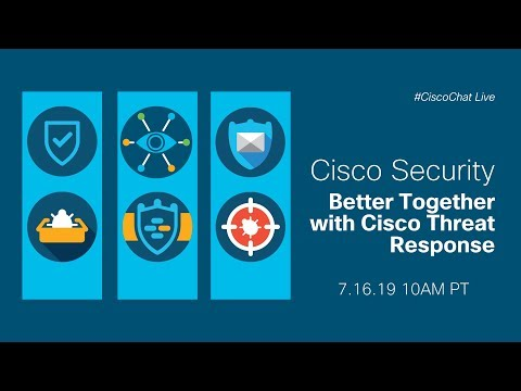 #CiscoChat Live - Advanced Threat Response