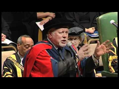 University of Derby honorary degree - Bob Laxton
