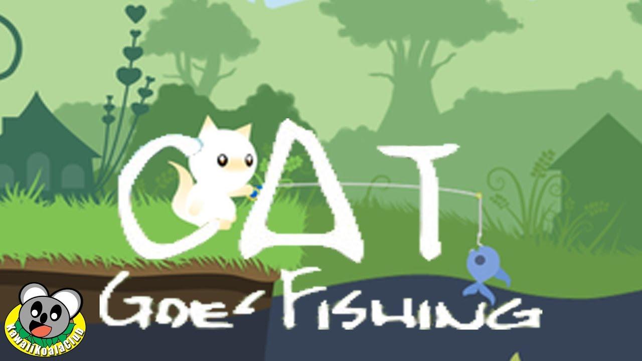 Power Rod Cat Goes Fishing Kawaii Koala Club