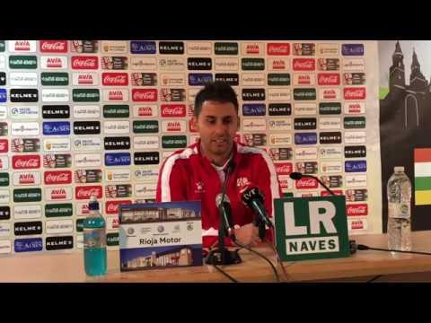 Post partido J12   Sergio Rodríguez valora la victoria ante el Gernika Club (2-0)