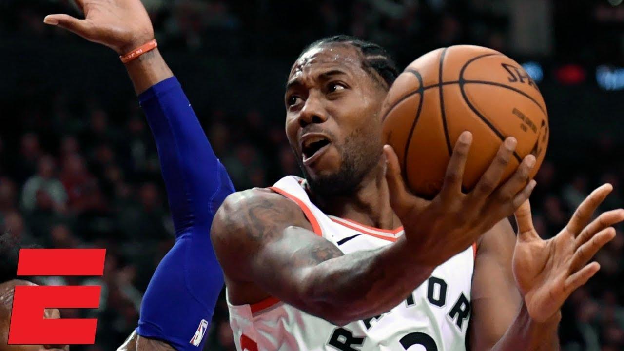 64d17b178 Kawhi Leonard leads the Raptors to victory vs. Joel Embiid and the 76ers