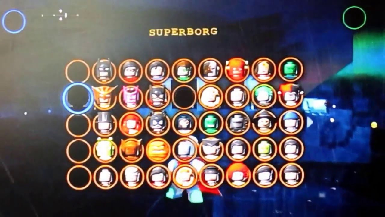 Lego Batman 2 Dc Superheroes My Custom Characters Youtube