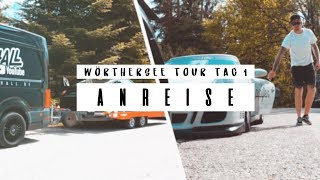 HOLYHALL | WÖRTHERSEE-TOUR | TAG 1 ANREISE