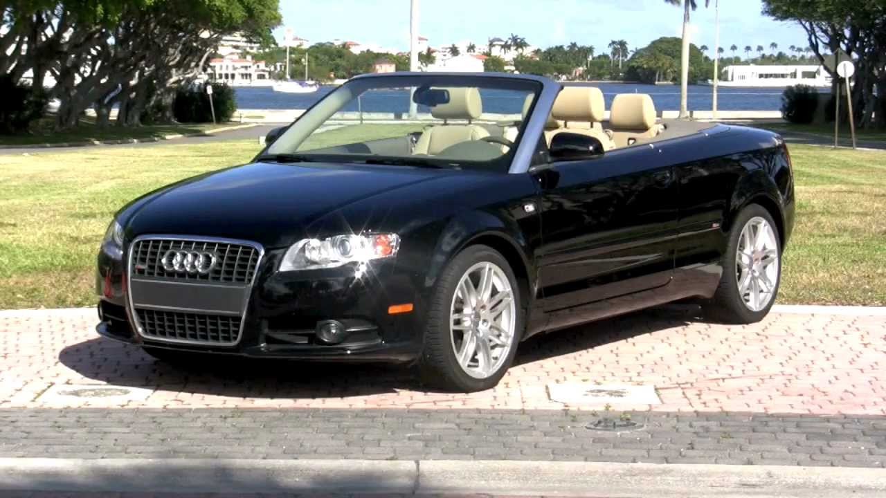 Audi A S Line Special Edition Cabriolet Brilliant Black A Youtube