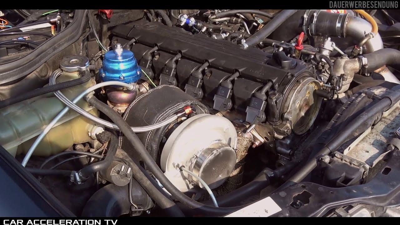 Mercedes E260 W124 Turbo Acceleration & Sound  Car Acceleration Tv 03:12 HD