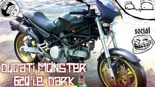 TEST Ducati Monster 620 i.e. DARK una moto SOCIAL. TOP SPEED + 0 -100...e oltre...