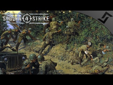 D-Day Landings & Airbornes Behind The Beach - Sudden Strike 4 - US Campaign #1