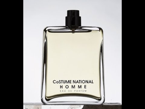 CoSTUME NATIONAL Homme Fragrance Review (2009)