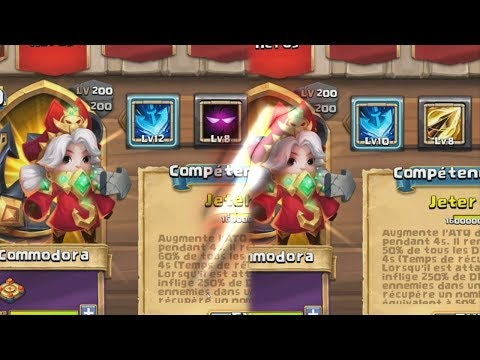 Commodor Gameplay Complet ! Castle Clash