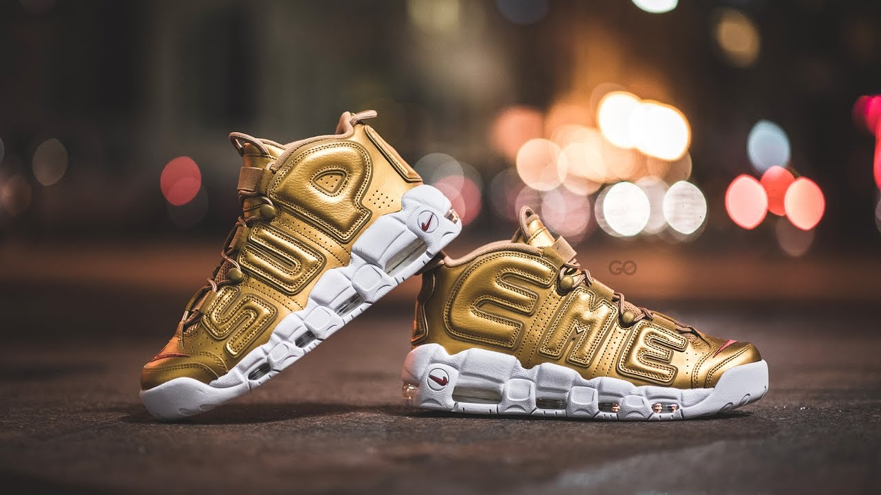 Review   On-Feet  Nike x Supreme Air More Uptempo
